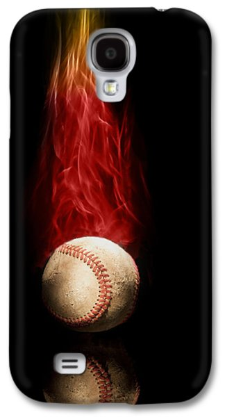 Fast Ball Galaxy S4 Case by Tom Mc Nemar