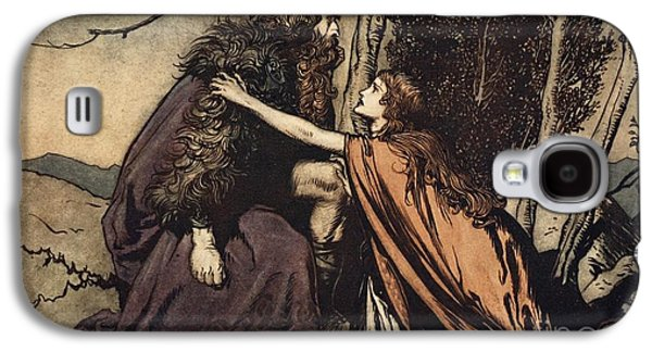 Father Father Tell Me What Ails Thee With Dismay Thou Art Filling Thy Child Galaxy S4 Case