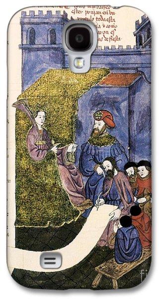 Feast Of Purim, 1430 Artwork Galaxy S4 Case by Patrick Landmann
