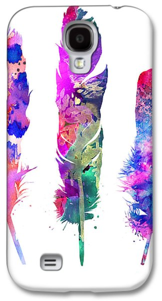 Feathers 3 Galaxy S4 Case by Luke and Slavi