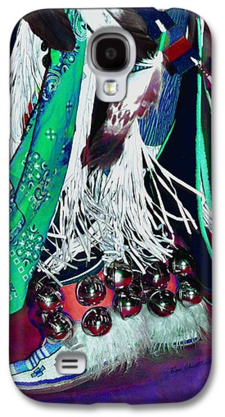 Feathers Fringe And Bells Galaxy S4 Case by Kae Cheatham