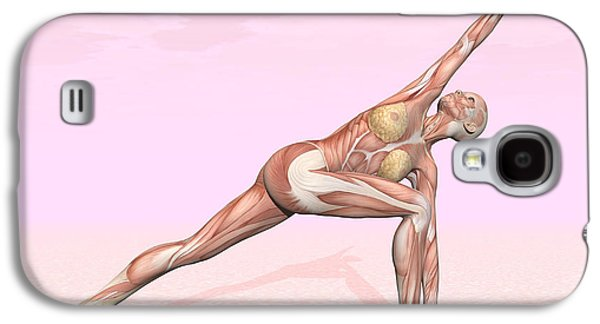 Female Musculature Performing Revolved Galaxy S4 Case