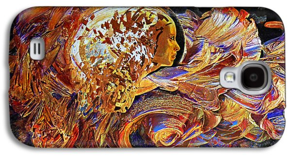 Female Seer Galaxy S4 Case by Michael Durst