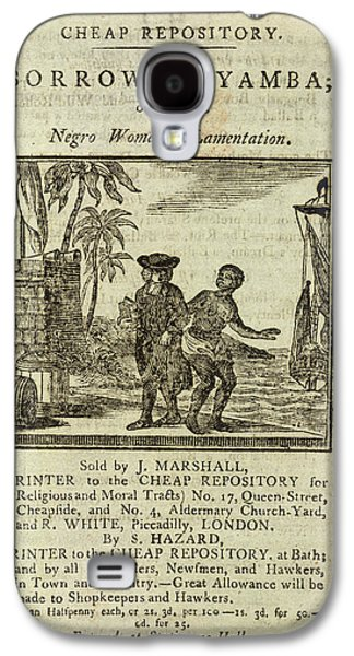 Female Slave Galaxy S4 Case by British Library
