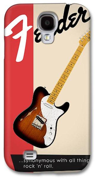 Guitar Galaxy S4 Case - Fender All Things Rock N Roll by Mark Rogan