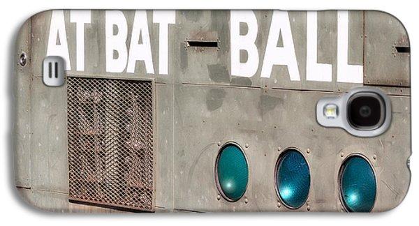 Fenway Park At Bat - Ball Scoreboard Galaxy S4 Case by Susan Candelario