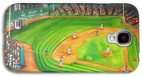 Fenway Park Fantasy Galaxy S4 Case by Michell Givens