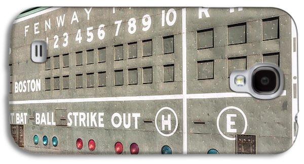 Fenway Park Scoreboard Galaxy S4 Case by Susan Candelario