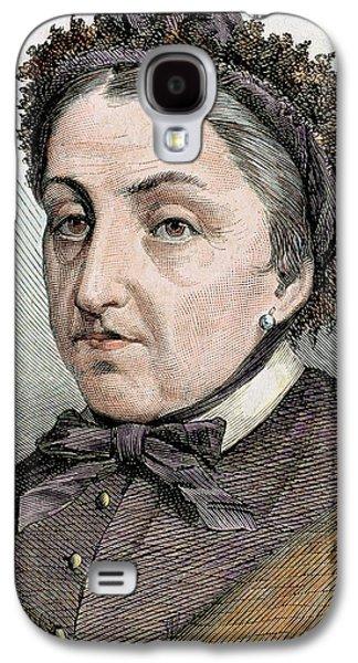 Fernan Caballero (1796 -1877 Galaxy S4 Case by Prisma Archivo