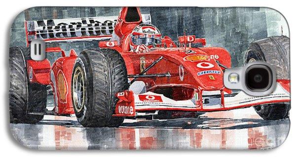 2002 Ferrari Marlboro F 2002 Ferrari 051 Rubens Borrichello Galaxy S4 Case