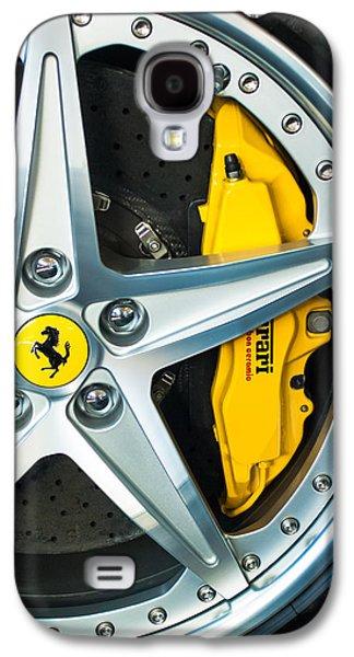 Ferrari Wheel 3 Galaxy S4 Case