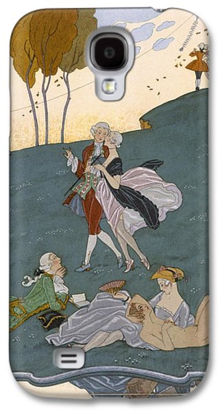 Fetes Galantes Galaxy S4 Case by Georges Barbier