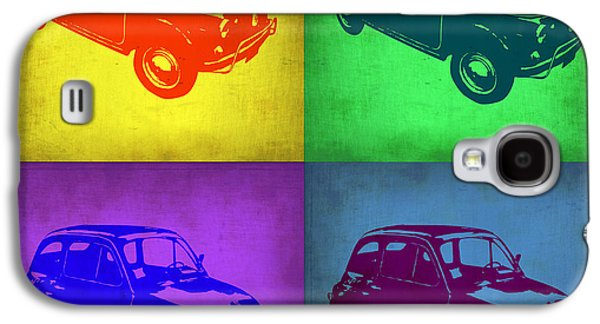 Fiat 500 Pop Art 1 Galaxy S4 Case by Naxart Studio