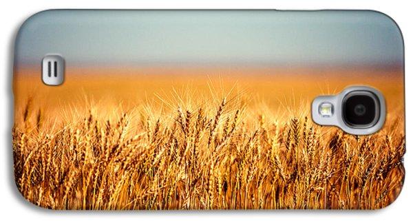 Rural Scenes Galaxy S4 Case - Field Of Wheat by Todd Klassy