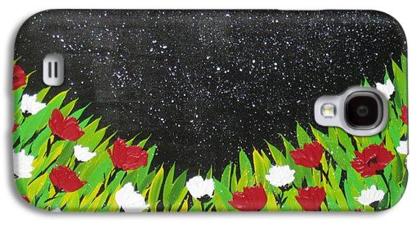 Fields Of Joy 2 Galaxy S4 Case by Cathy Jacobs