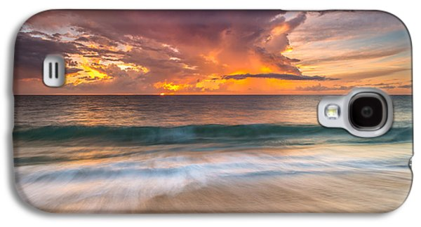 Fiery Skies Azure Waters Rendezvous Galaxy S4 Case