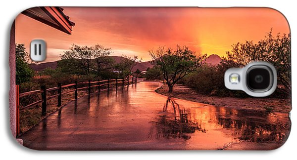 Fiery Sunset Galaxy S4 Case