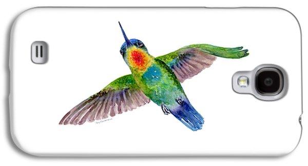Fiery-throated Hummingbird Galaxy S4 Case