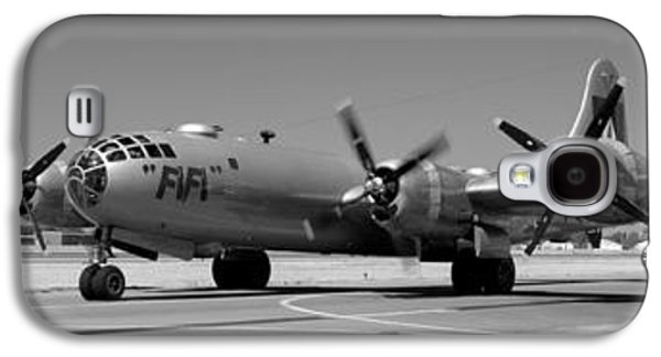 Fifi.  Enola Gay's B29 Superfortress Sister Visits Modesto Kmod. Galaxy S4 Case