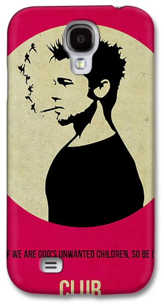 Fight Club Poster Galaxy S4 Case by Naxart Studio