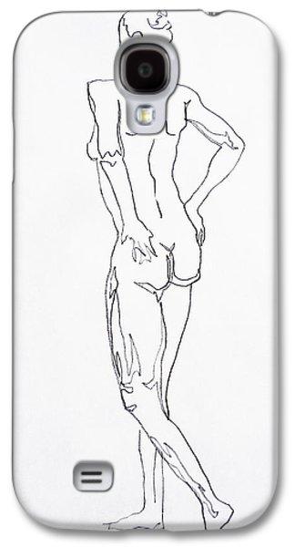 Figure Drawing Study I  Galaxy S4 Case
