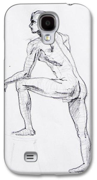 Figure Drawing Study II Galaxy S4 Case
