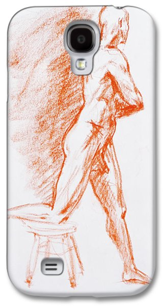 Figure Drawing Study IIi Galaxy S4 Case
