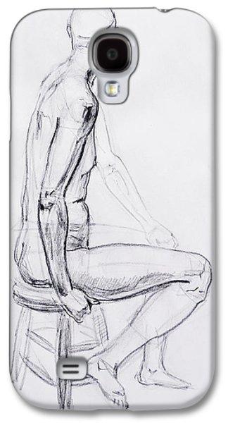 Figure Drawing Study V Galaxy S4 Case