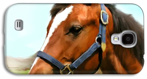 Wild Racers Galaxy S4 Case - Filly by Paul Tagliamonte