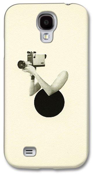 Film Noir Galaxy S4 Case by Cassia Beck