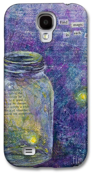 Find Magic Galaxy S4 Case by Melissa Sherbon