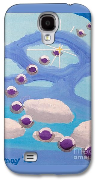 Galaxy S4 Case featuring the painting Finding Personal Peace by Rod Ismay