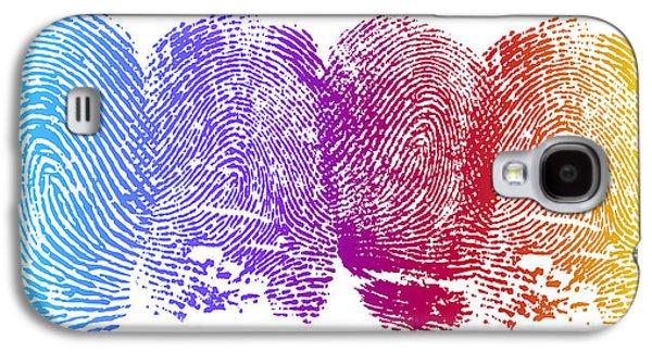 Finger Prints Galaxy S4 Case