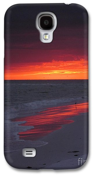 Fire And Water Galaxy S4 Case by Elizabeth Carr