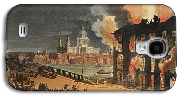 Fire At Albion Mill Galaxy S4 Case by British Library