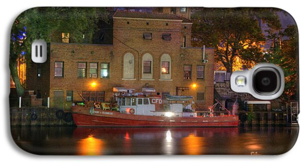 Fire Boat On Cuyahoga River Galaxy S4 Case