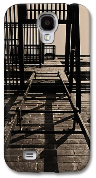 Fire Escape Sepia Galaxy S4 Case by Don Spenner