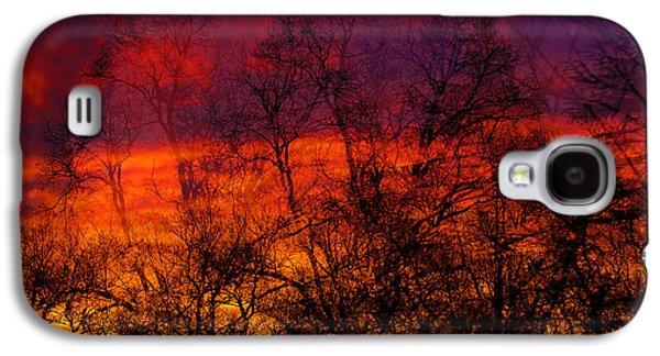 Fire Galaxy S4 Case