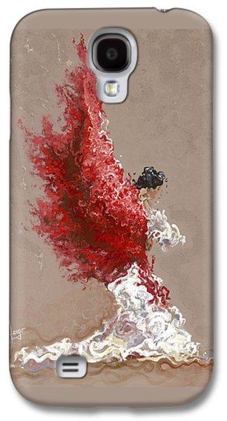 Fire Galaxy S4 Case by Karina Llergo
