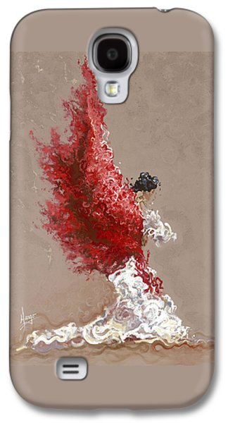 Fire Galaxy S4 Case by Karina Llergo