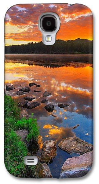 City Scenes Galaxy S4 Case - Fire On Water by Kadek Susanto