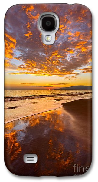 Fire Over Lahaina Galaxy S4 Case