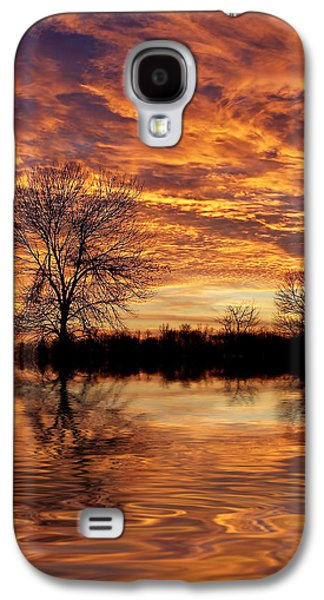 Fire Painters In The Sky Galaxy S4 Case