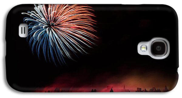 Fire Galaxy S4 Case by Thierry Boitelle