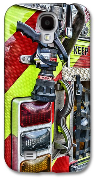Fire Truck - Keep Back 300 Feet Galaxy S4 Case