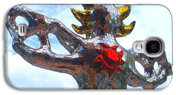 Firebird Heart Galaxy S4 Case by Randall Weidner