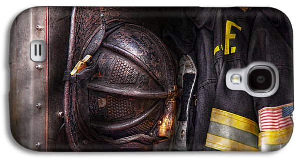 Fireman - Worn And Used Galaxy S4 Case