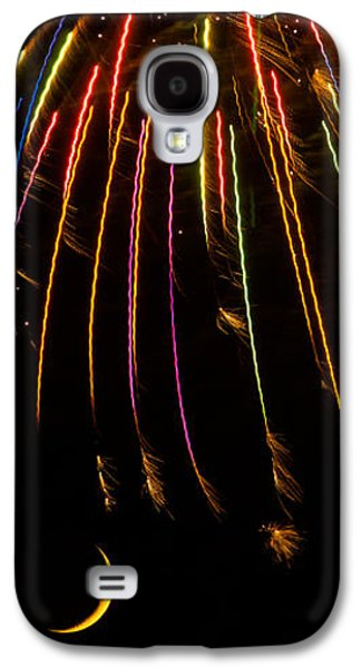 Firework Indian Headdress Galaxy S4 Case by Darryl Dalton