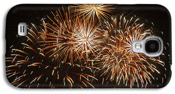 Fireworks At The Albuquerque Hot Air Galaxy S4 Case by William Sutton