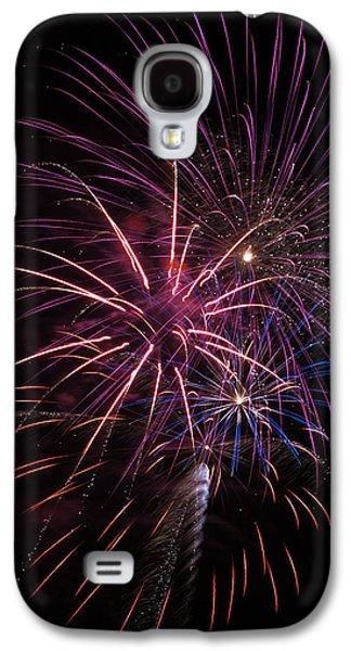 Fireworks Display  Astoria, Oregon Galaxy S4 Case